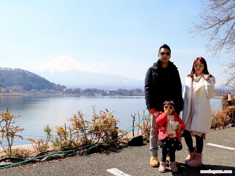 ★日本★東京賞櫻、河口湖賞富士山DAY4+DYA5。河口湖、富士山、風之露台飯店全攻略