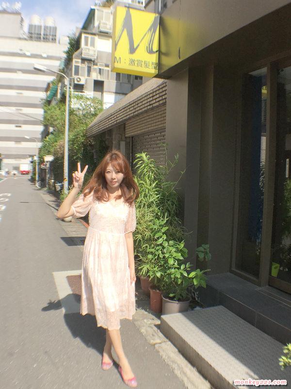 ★髮型★台北東區燙髮推薦,M:激賞髮型燙個空氣感大捲髮