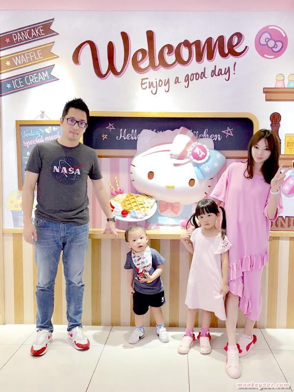 ★台北★Hello Kitty主題餐廳,環境和餐點真是滿滿的Kitty