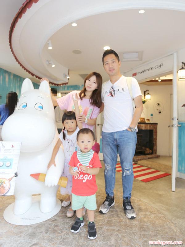 ★台北★二訪嚕嚕米主題餐廳Moomin Cafe,全新菜單可愛又美味