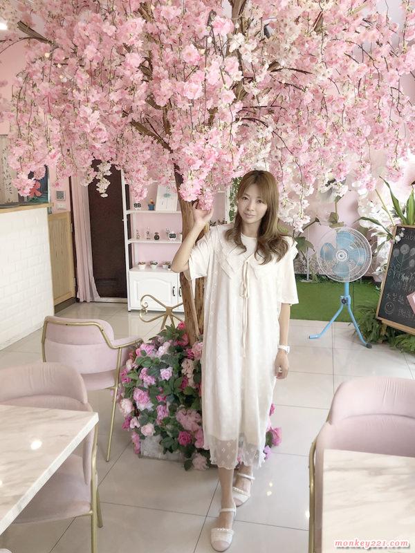 ★新竹★竹北Double Coffe,粉紅花牆好好拍、餐點好平價