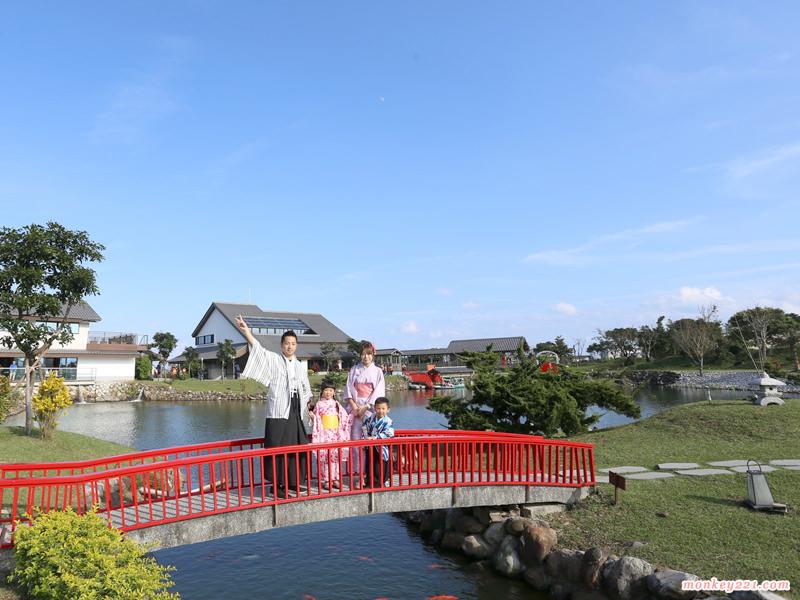★宜蘭★綠舞國際觀光飯店,全台最美日式庭園,浴衣體驗、忍者體驗好好玩