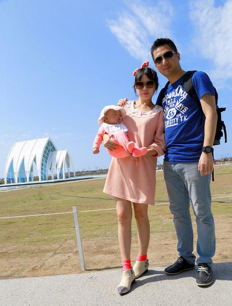 ★台南★北門遊客中心,水晶教堂、婚紗美地