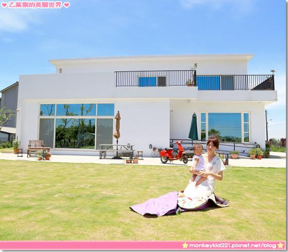 ★新竹★新豐Deer Nana Cafe,好適合野餐的草地咖啡館